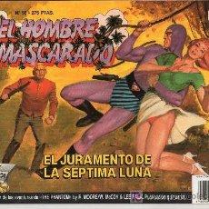Tebeos: EL HOMBRE ENMASCARADO Nº 56. EL JURAMENTO DE LA SEPTIMA LUNA. Lote 17995863