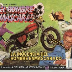 Tebeos: EL HOMBRE ENMASCARADO Nº 60. LA INOCENCIA DEL HOMBRE ENMASCARADO. Lote 17995886
