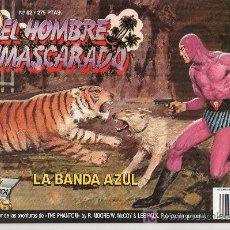 Tebeos: EL HOMBRE ENMASCARADO Nº 62. LA BANDA AZUL. Lote 17995901