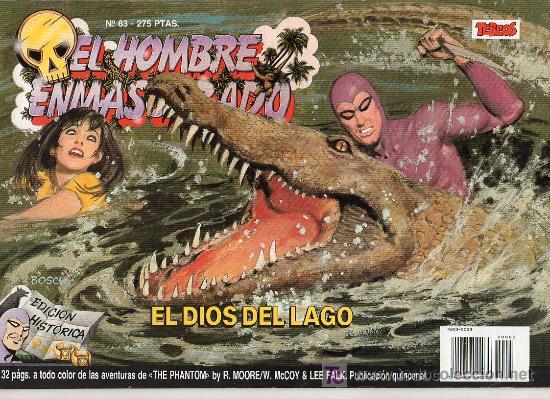 EL HOMBRE ENMASCARADO Nº 63. EL DIOS DEL LAGO (Tebeos y Comics - Hispano Americana - Hombre Enmascarado)