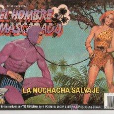 Tebeos: EL HOMBRE ENMASCARADO Nº 64. LA MUCHACHA SALVAJE. Lote 60145742