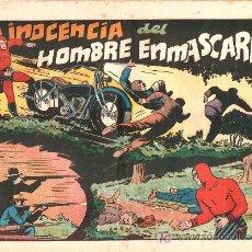 Tebeos: AVENTURA DEL HOMBRE ENMASCARADO. LA INOCENCIA DEL HOMBRE ENMASCARADO. EDICIONES HISPANO AMERICANA. Lote 18014588