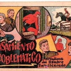 Tebeos: AVENTURA DEL HOMBRE ENMASCARADO. CASAMIENTO PROBLEMATICO. EDICIONES HISPANO AMERICANA. Lote 22310837