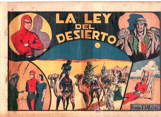 AVENTURA DEL HOMBRE ENMASCARADO. LA LEY DEL DESIERTO. EDICIONES HISPANO AMERICANA (Tebeos y Comics - Hispano Americana - Hombre Enmascarado)