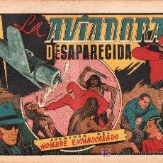 Tebeos: AVENTURA DEL HOMBRE ENMASCARADO. LA AVIADORA DESAPARECIDA. EDICIONES HISPANO AMERICANA. Lote 21293783