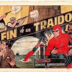 Tebeos: AVENTURA DEL HOMBRE ENMASCARADO. EL FIN DE UN TRAIDOR. EDICIONES HISPANO AMERICANA. Lote 18026361