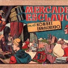 Tebeos: AVENTURA DEL HOMBRE ENMASCARADO. EL MERCADER DE ESCLAVOS . EDICIONES HISPANO AMERICANA. Lote 18026551