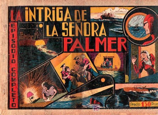 AVENTURA DEL HOMBRE ENMASCARADO. LA INTIGRA DE LA SEÑORA PALMER. EDICIONES HISPANO AMERICANA (Tebeos y Comics - Hispano Americana - Hombre Enmascarado)