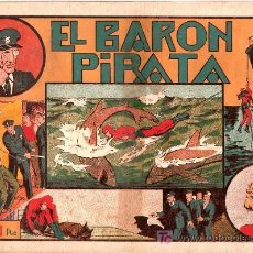 Tebeos: AVENTURA DEL HOMBRE ENMASCARADO. EL BARON PIRATA. EDICIONES HISPANO AMERICANA. Lote 51138038