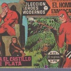 Tebeos: COLECCION HEROES MODERNOS PARA ADULTOS. SERIE A Nº 22. EL HOMBRE ENMASCARADO.HACIA EL CASTILLO . Lote 18063403