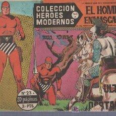 Tebeos: COLECCION HEROES MODERNOS PARA ADULTOS.SERIE A Nº 23.EL HOMBRE ENMASCARADO.LOS ULTIMOS OBSTACULOS. Lote 18063505