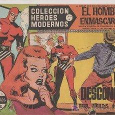Tebeos: COLECCION HEROES MODERNOS PARA ADULTOS.SERIE A Nº 26.EL HOMBRE ENMASCARADO.LA ISLA DESCONOCIDA. Lote 18063541