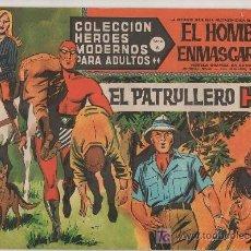 Tebeos: COLECCION HEROES MODERNOS PARA ADULTOS.SERIE A Nº 42.EL HOMBRE ENMASCARADO.EL PATRULLERO HILL. Lote 18063562