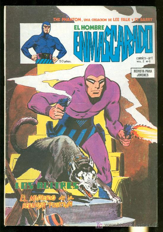 EL HOMBRE ENMASCARADO. LEE FALK Y SY BARRY. VOL. 2 Nº 6. (Tebeos y Comics - Hispano Americana - Hombre Enmascarado)