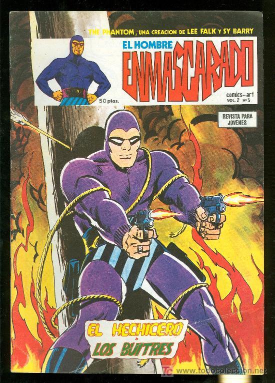 EL HOMBRE ENMASCARADO. LEE FALK Y SY BARRY. VOL. 2 Nº 5. (Tebeos y Comics - Hispano Americana - Hombre Enmascarado)