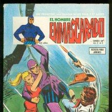 Tebeos: EL HOMBRE ENMASCARADO. LEE FALK Y SY BARRY. VOL. 2 Nº 3.. Lote 18147137