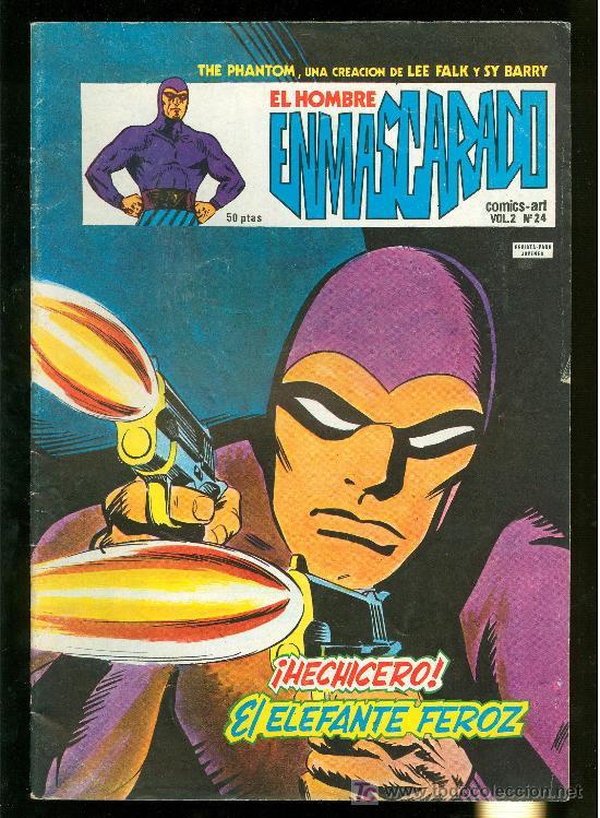 EL HOMBRE ENMASCARADO. LEE FALK Y SY BARRY. VOL. 2 Nº 24. (Tebeos y Comics - Hispano Americana - Hombre Enmascarado)