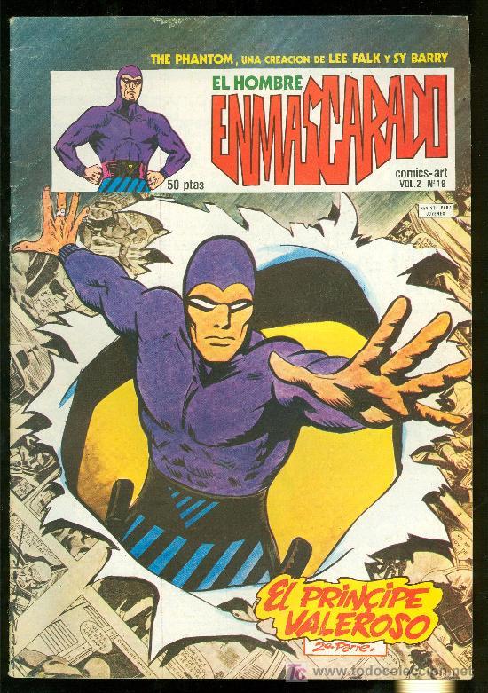 EL HOMBRE ENMASCARADO. LEE FALK Y SY BARRY. VOL. 2 Nº 19. (Tebeos y Comics - Hispano Americana - Hombre Enmascarado)