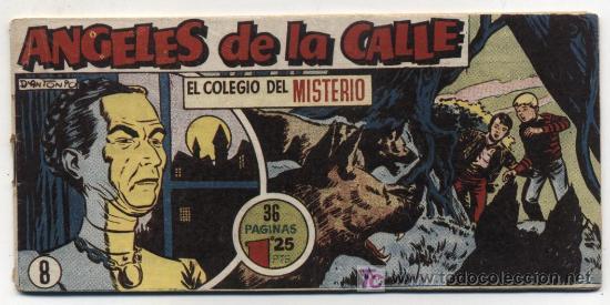 ANGELES DE LA CALLE Nº 8. HISPANO AMERICANA 1951. (Tebeos y Comics - Hispano Americana - Otros)