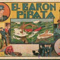 Tebeos: EL BARN PIRATA,DE LAS GRANDES AVENTURAS,EDITORIAL HISPANO AMERICANA. Lote 24926210