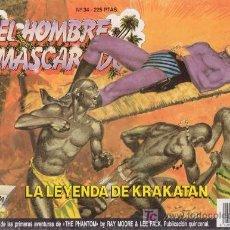 Tebeos: EL HOMBRE ENMASCARADO. LA LEYENDA DE KRAKATÁN. EDICION HISTÓRICA Nº 34. TEBEOS S.A.. Lote 18659771