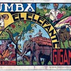 Tebeos: COMIC CAZANDO FIERAS VIVAS TUMBA EL ELEFANTE GIGANTE . Lote 19261836