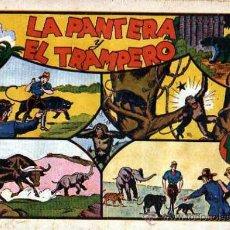 Tebeos: COMIC JORGE Y FERNANDO LA PANTERA Y EL TRAMPERO. Lote 19261975