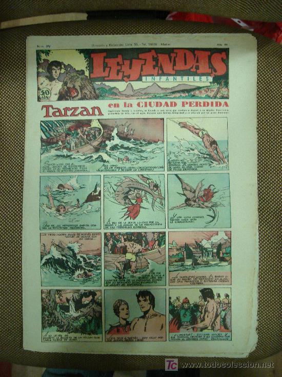 LEYENDAS INFANTILES. Nº 94. (Tebeos y Comics - Hispano Americana - Leyendas Infantiles)