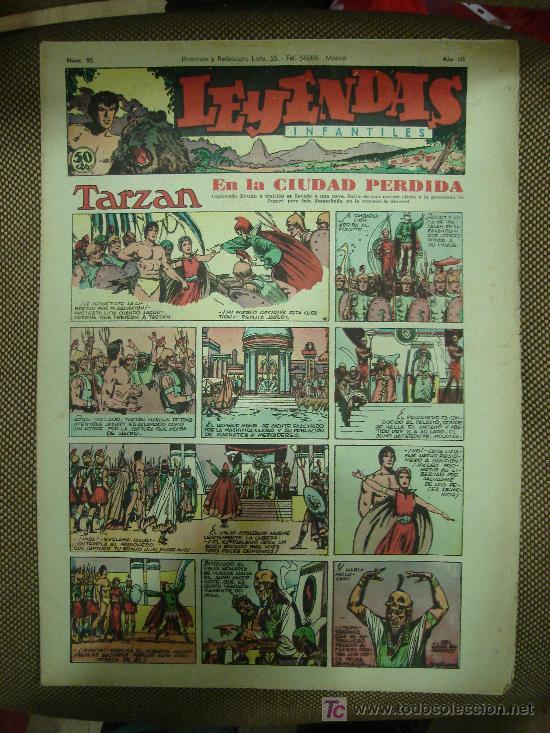 LEYENDAS INFANTILES. Nº 95. (Tebeos y Comics - Hispano Americana - Leyendas Infantiles)