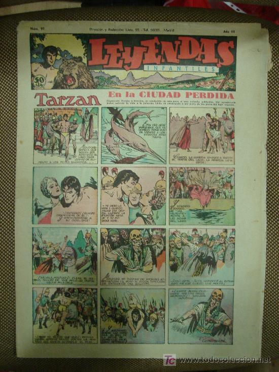 LEYENDAS INFANTILES. Nº 97. (Tebeos y Comics - Hispano Americana - Leyendas Infantiles)