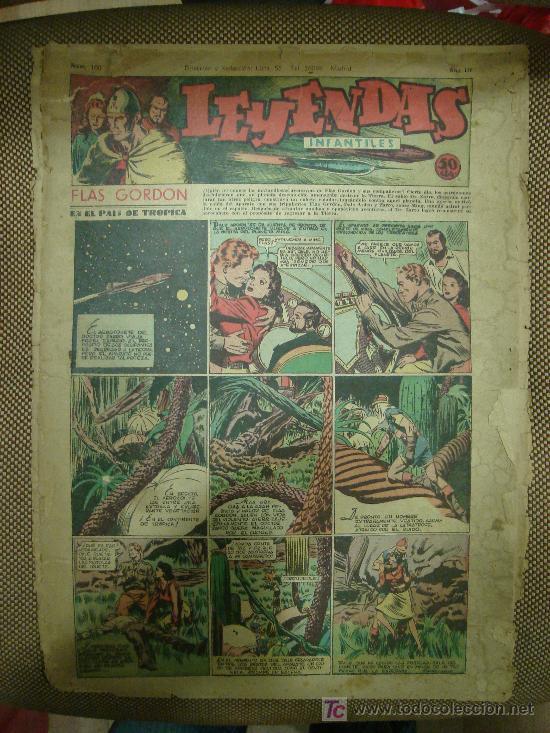 LEYENDAS INFANTILES. Nº 100. (Tebeos y Comics - Hispano Americana - Leyendas Infantiles)