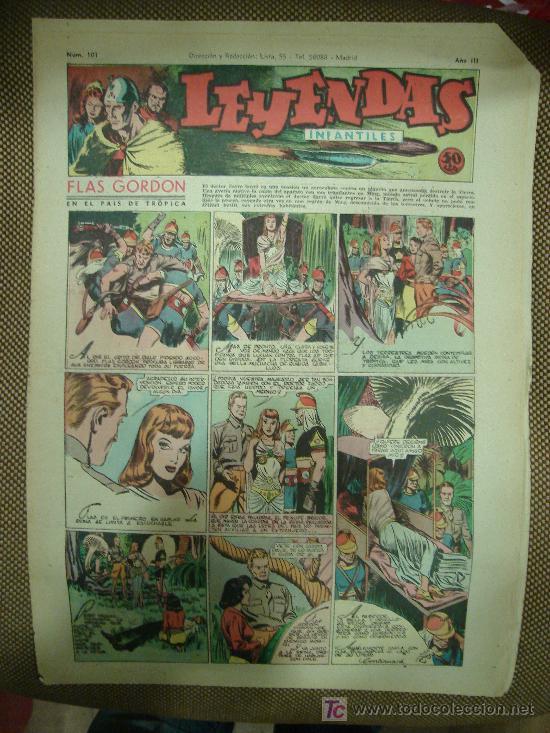 LEYENDAS INFANTILES. Nº 101. (Tebeos y Comics - Hispano Americana - Leyendas Infantiles)