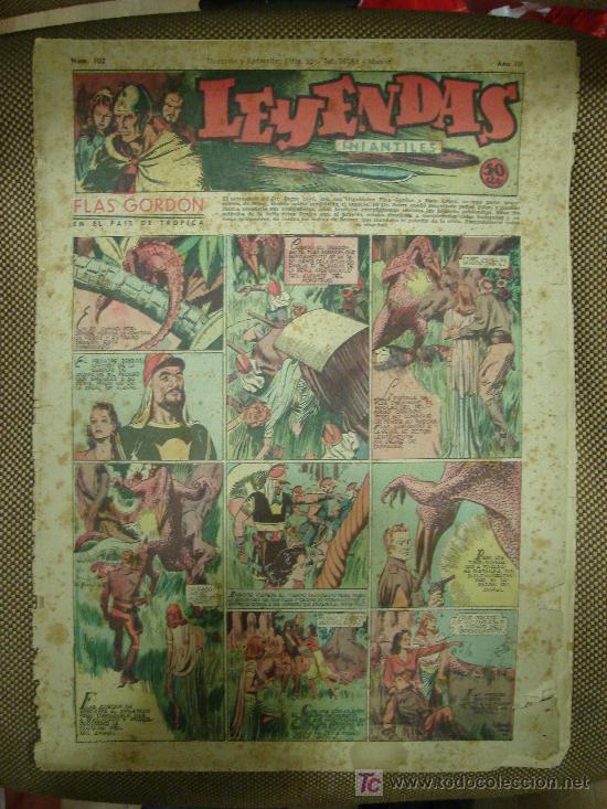LEYENDAS INFANTILES. Nº 102. (Tebeos y Comics - Hispano Americana - Leyendas Infantiles)