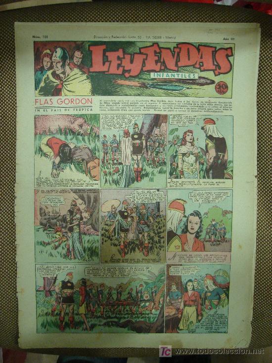 LEYENDAS INFANTILES. Nº 103. (Tebeos y Comics - Hispano Americana - Leyendas Infantiles)