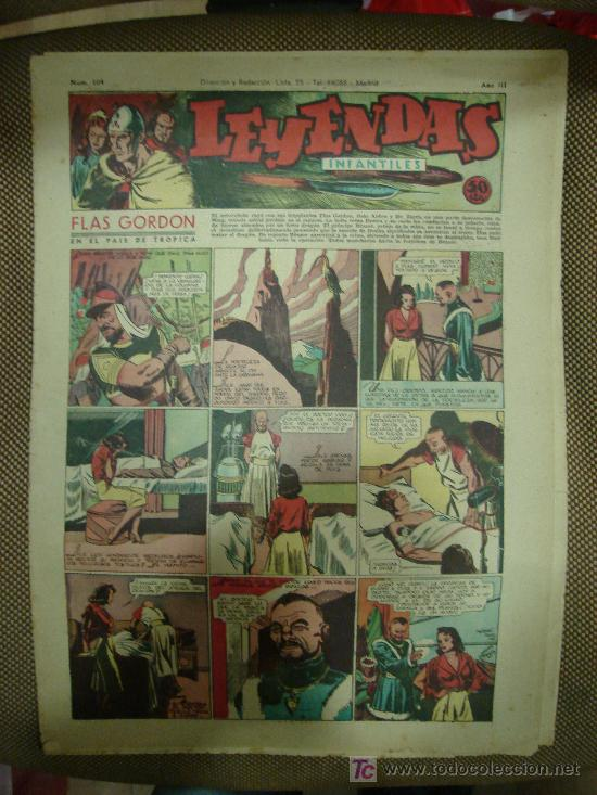 LEYENDAS INFANTILES. Nº 104. (Tebeos y Comics - Hispano Americana - Leyendas Infantiles)