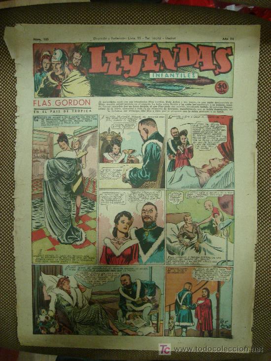 LEYENDAS INFANTILES. Nº 105. (Tebeos y Comics - Hispano Americana - Leyendas Infantiles)