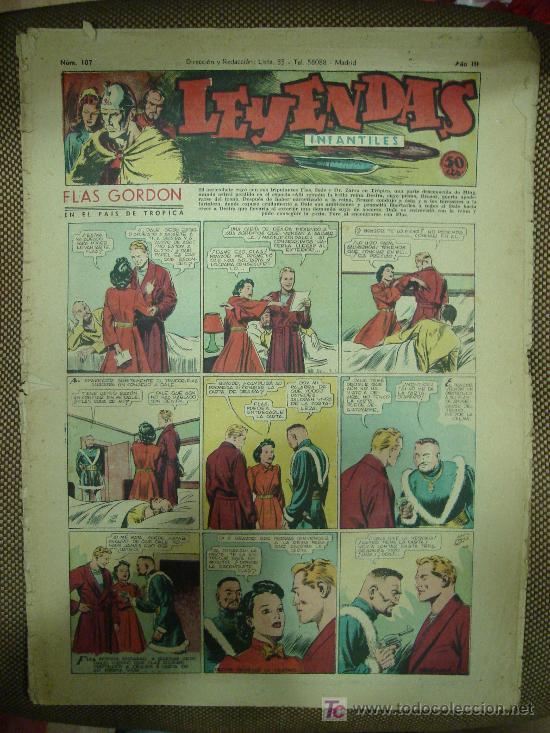 LEYENDAS INFANTILES. Nº 107. (Tebeos y Comics - Hispano Americana - Leyendas Infantiles)
