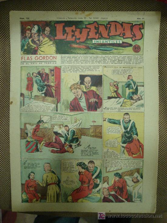 LEYENDAS INFANTILES. Nº 108. (Tebeos y Comics - Hispano Americana - Leyendas Infantiles)