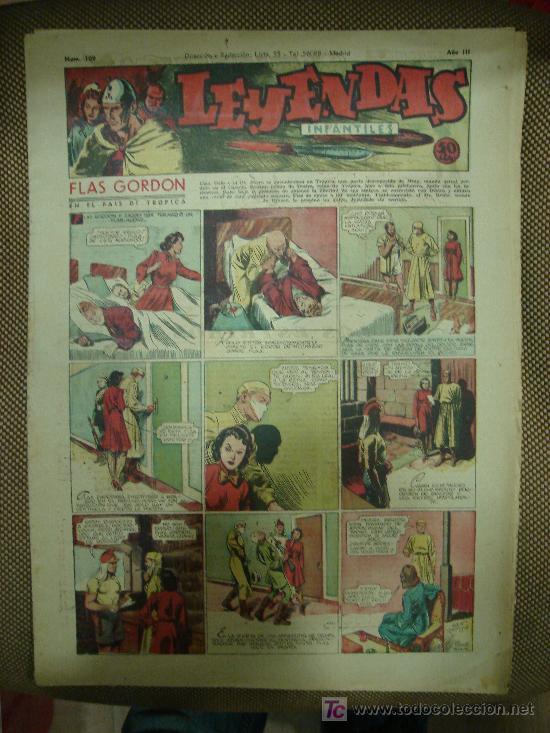 LEYENDAS INFANTILES. Nº 109. (Tebeos y Comics - Hispano Americana - Leyendas Infantiles)