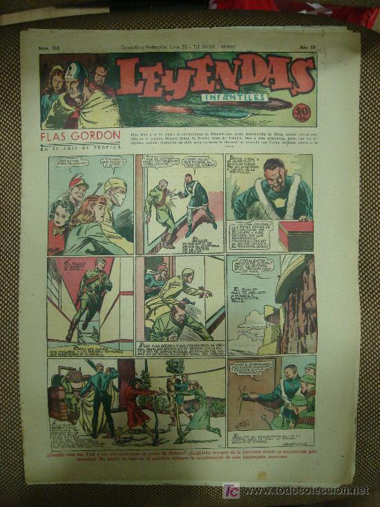 LEYENDAS INFANTILES. Nº 110. (Tebeos y Comics - Hispano Americana - Leyendas Infantiles)