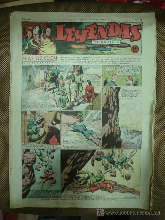 LEYENDAS INFANTILES. Nº 111. (Tebeos y Comics - Hispano Americana - Leyendas Infantiles)