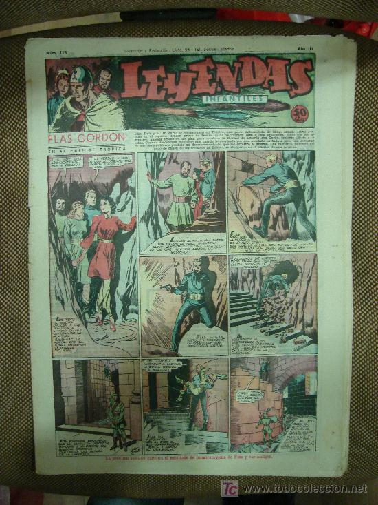 LEYENDAS INFANTILES. Nº 113. (Tebeos y Comics - Hispano Americana - Leyendas Infantiles)