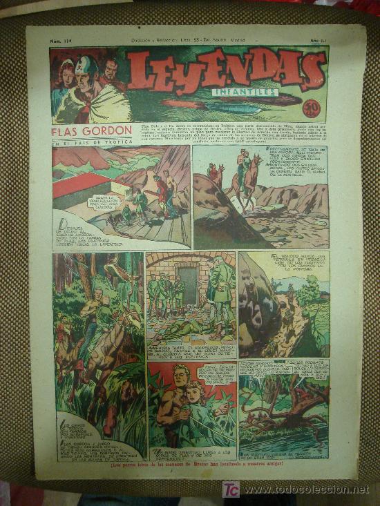 LEYENDAS INFANTILES. Nº 114. (Tebeos y Comics - Hispano Americana - Leyendas Infantiles)