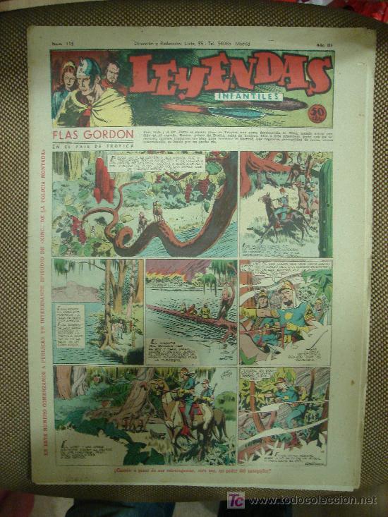 LEYENDAS INFANTILES. Nº 115. (Tebeos y Comics - Hispano Americana - Leyendas Infantiles)