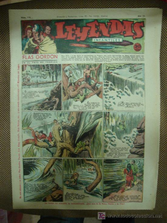 LEYENDAS INFANTILES. Nº 116. (Tebeos y Comics - Hispano Americana - Leyendas Infantiles)
