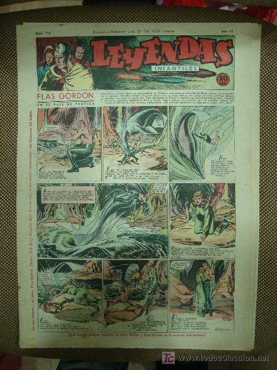LEYENDAS INFANTILES. Nº 118. (Tebeos y Comics - Hispano Americana - Leyendas Infantiles)