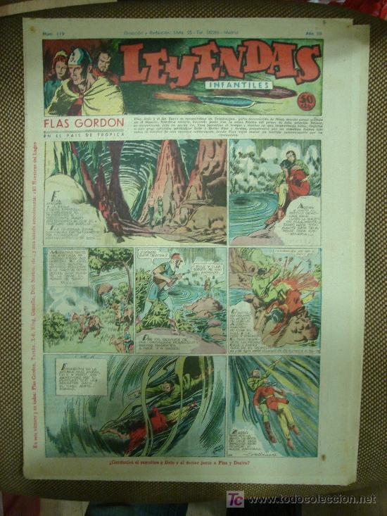 LEYENDAS INFANTILES. Nº 119. (Tebeos y Comics - Hispano Americana - Leyendas Infantiles)