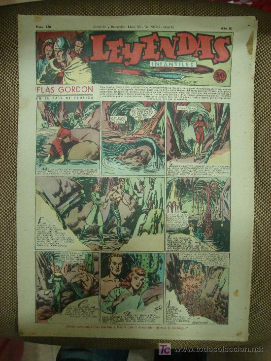 LEYENDAS INFANTILES. Nº 120. (Tebeos y Comics - Hispano Americana - Leyendas Infantiles)