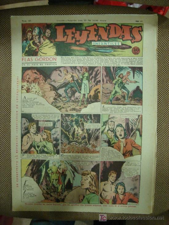 LEYENDAS INFANTILES. Nº 121. (Tebeos y Comics - Hispano Americana - Leyendas Infantiles)