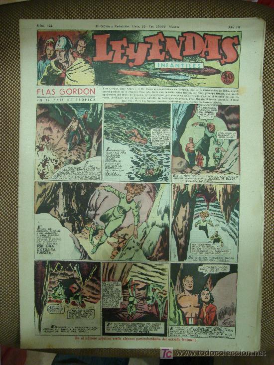 LEYENDAS INFANTILES. Nº 122. (Tebeos y Comics - Hispano Americana - Leyendas Infantiles)